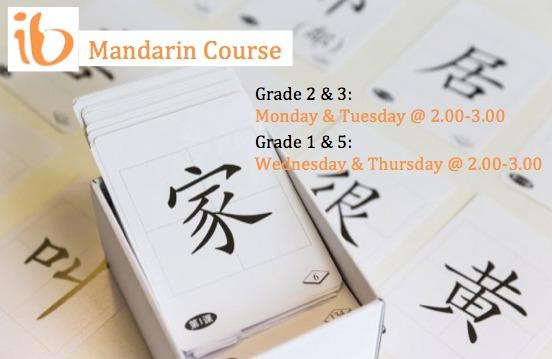 Mandarin Course